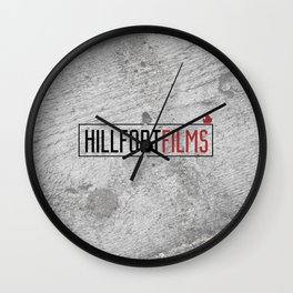 Hillfort Films Wall Clock