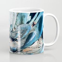 Turquoise Succulent After Desert Dust Storm Coffee Mug