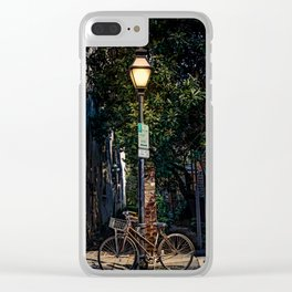 Bicycle in Charleston Clear iPhone Case