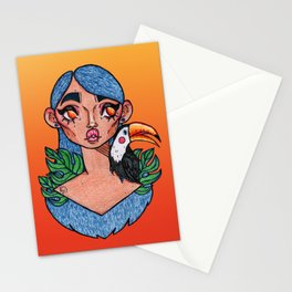 Tropical Wonderland Stationery Cards
