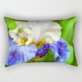 Iris Flower  Rectangular Pillow