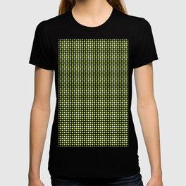 Yellow Lemon Green Fruit Pattern T-shirt