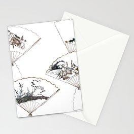 Mutamagawa senmen harimaze Hokusai Katsushika Ukiyo-E Japanese Stationery Cards