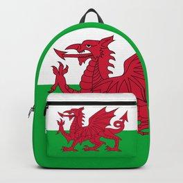 Welsh Flag of Wales Backpack