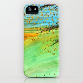 Sunrise on the Meadow iPhone Case