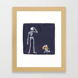 Fetch Framed Art Print