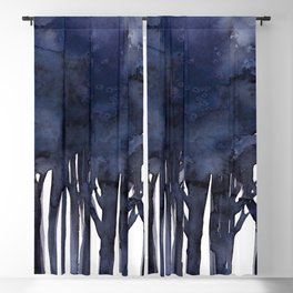 Tree Impressions No.1F by Kathy Morton Stanion Blackout Curtain