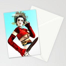 The Mad Geisha Stationery Cards