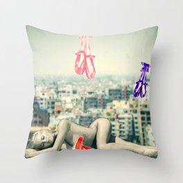 Sleeping Spirit Throw Pillow