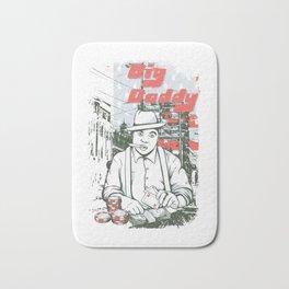 Big Daddy Old School Gambling Gangster Bath Mat