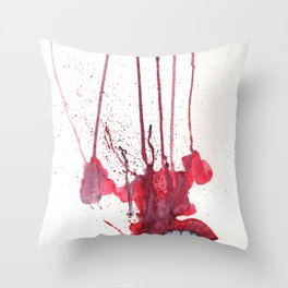 Kiss, Kiss Throw Pillow
