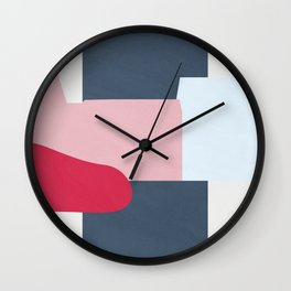Color and Shape - Copenhagen, Denmark Wall Clock