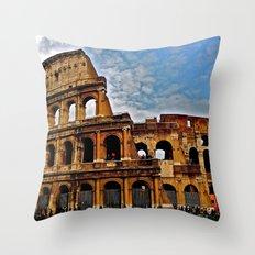 Do as the Roman's do Throw Pillow