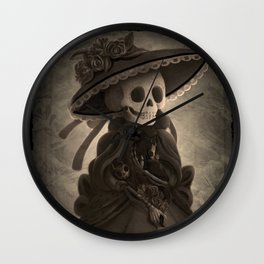 Mother Catrina Wall Clock