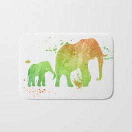 Elephants 020 Bath Mat
