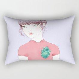 cactus heart i Rectangular Pillow