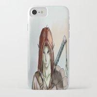 elf iPhone & iPod Cases featuring Elf by Robert Adam Sharp