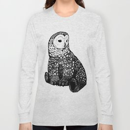Owl-Bear Long Sleeve T-shirt