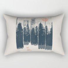 A Fox in the Wild... Rectangular Pillow