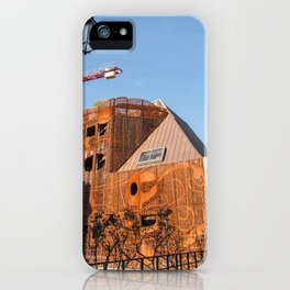 Lille architecture blue sky iPhone Case