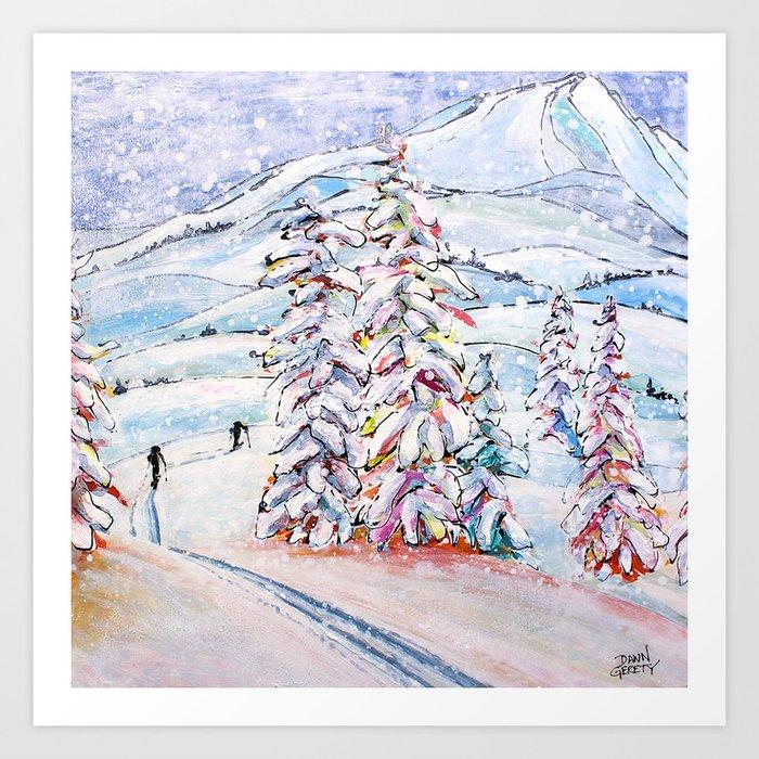 Breaking Trail Art Print
