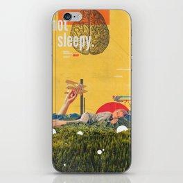 I'm not Sleepy iPhone Skin