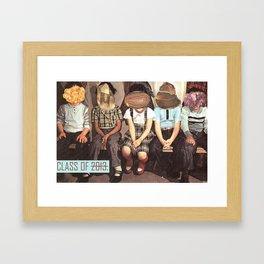 class of 2013 Framed Art Print