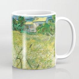 Green Field by Vincent van Gogh Coffee Mug