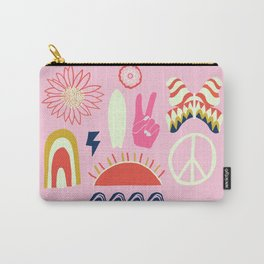 peace + harmony + surf Carry-All Pouch