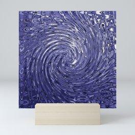 Whirlpool of Blue Mini Art Print