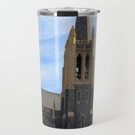 Tall Steeple City Landmark Travel Mug