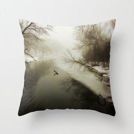 River Songs Throw Pillow