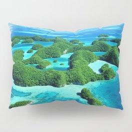 Palau Island Paradise Pillow Sham
