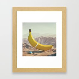 Banana Land Framed Art Print