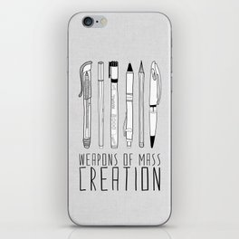 weapons of mass creation iPhone Skin