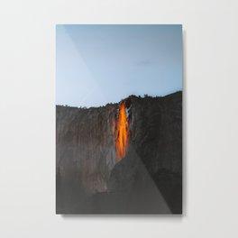 Yosemite Firefall 2020 ! Metal Print