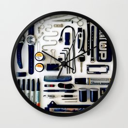 Junk Drawer: Monochrome Wall Clock