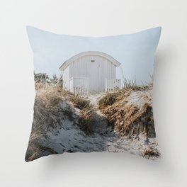 Salty Summer - Landscape and Nature Photography Throw Pillow