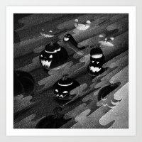 Drawlloween 2016: Pumpkin Art Print