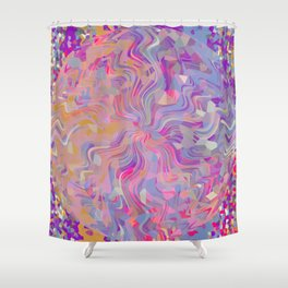 Electrified Crystal Ball Shower Curtain