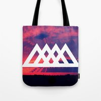 angels Tote Bags featuring Angels by ATWA