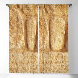 Ancient Minoan Stone Blackout Curtain