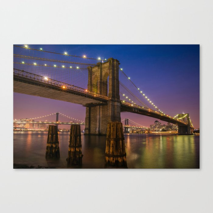 Brooklyn Nights Canvas Print