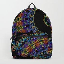 Rainbow Doodle Mandala Backpack