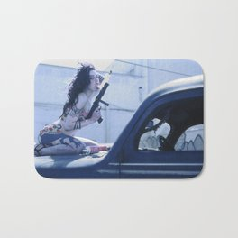Whipped Cream Chola Bath Mat