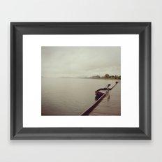 Margin Framed Art Print