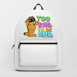 Too Rad to be Sad Garfield the Cat Backpack