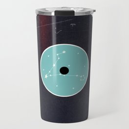 Vinyl Record Star Sign Art | Pisces Travel Mug