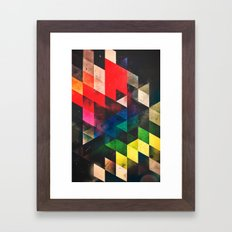 lwwsyng cylyr Framed Art Print