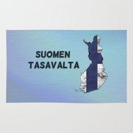 Finland / Suomen Tasavalta Rug